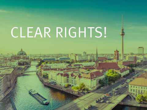 Open Registration for the workshop Clearing Rights for Film and TV